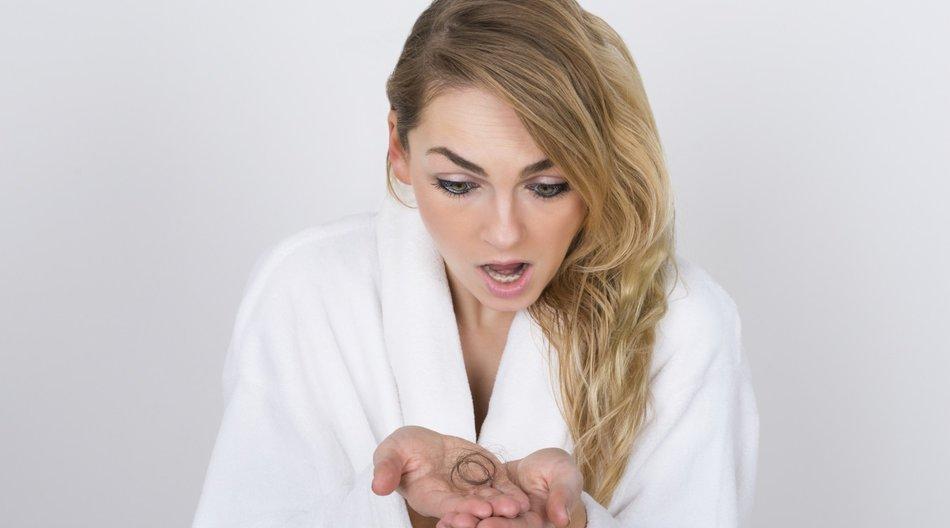Haarausfall Frau