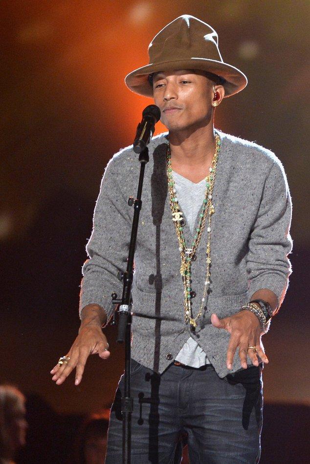 Pharrell Williams bei den Grammys