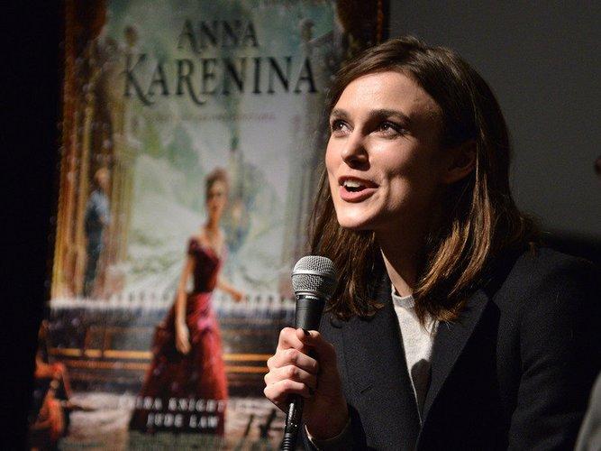 Keira Knightley spielte die Hauptrolle in 'Anna Karenina'.