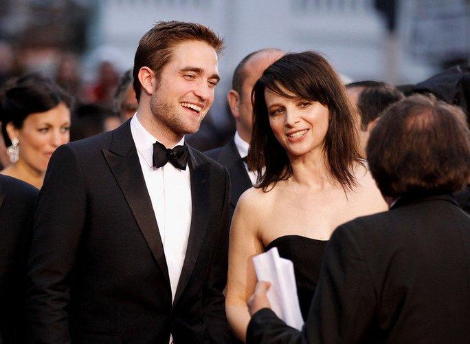 Robert Pattinson und Juliette Binoche kommen 2012 zu den Filmfestspielen in Cannes.