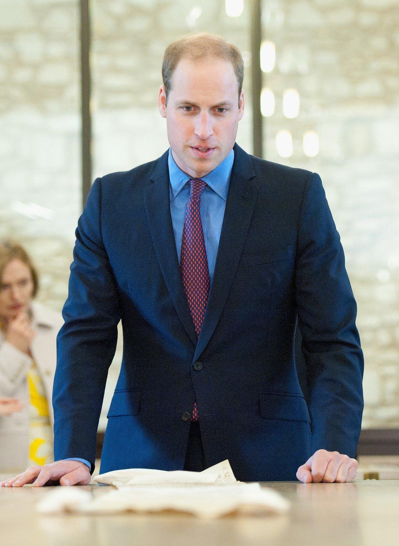 Prinz William behält Prinzessin Di in Erinnerung