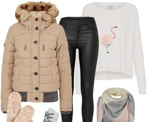 Outfit des Tages: Dick eingepackt im Winter