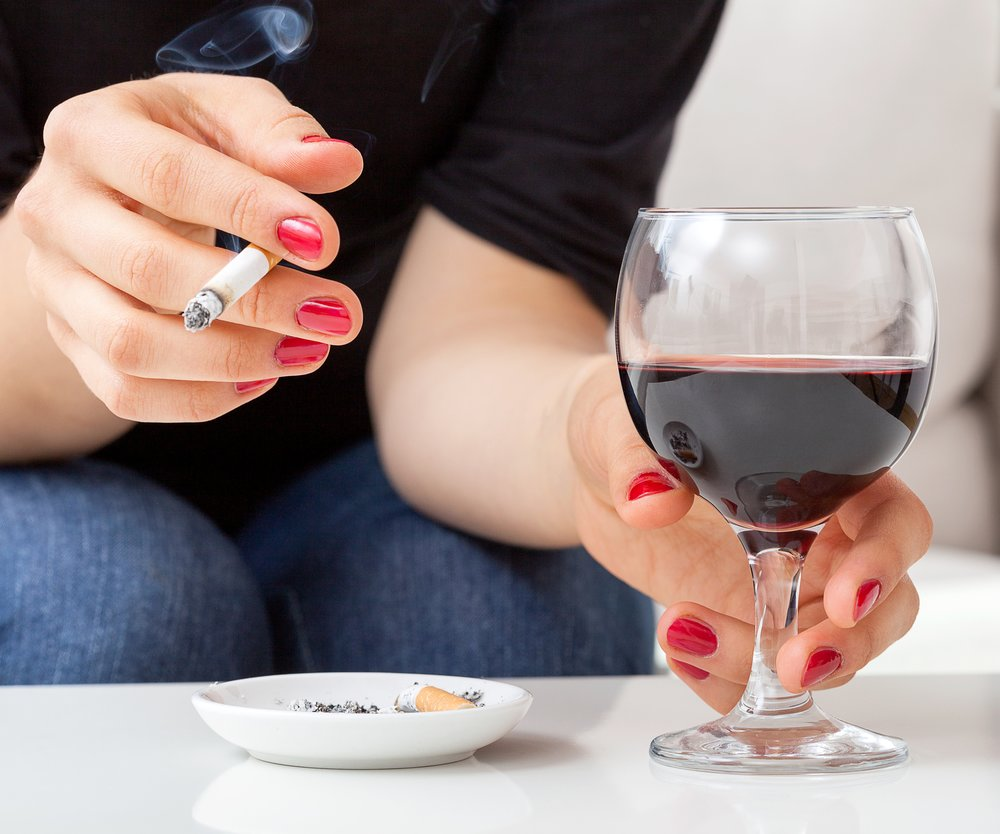 Alkohol Lust zu rauchen