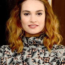 "WEST HOLLYWOOD, CA - JANUARY 22:  Actress Lily James poses at the Screen Gems' ""Pride and Prejudice and Zombies"" photo call at the London Hotel on January 22, 2016 in West Hollywood, California.  (Photo by Kevin Winter/Getty Images)"