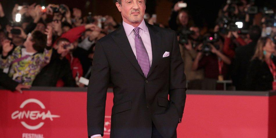 Sylvester Stallone: Rente noch nicht in Sicht