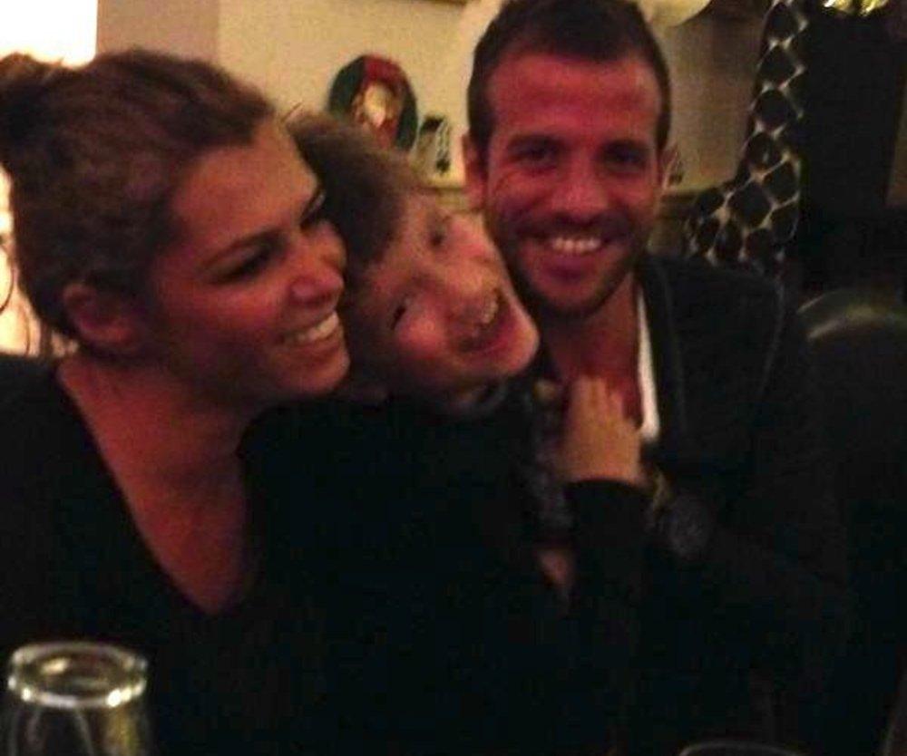 Rafael van der Vaart: Gemeinsam mit Sabia und Damian lacht er die Tränen weg