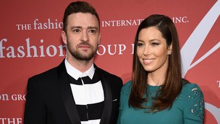 NEW YORK, NY - OCTOBER 22: Justin Timerlake and Jessica Biel attend the 2015 Fashion Group International Night Of Stars Gala at Cipriani Wall Street on October 22, 2015 in New York City. (Photo by Dimitrios Kambouris/Getty Images)
