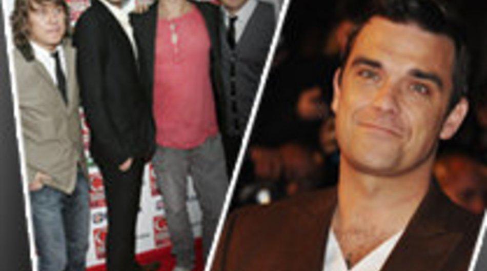 Take That und Robbie Williams gemeinsam im Studio?