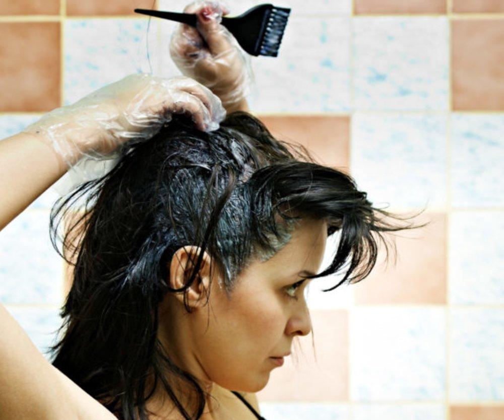 Fehler beim Haarefärben