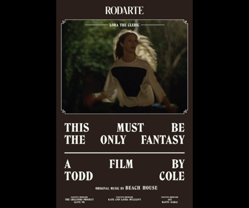 """""""This must be the only fantasy""""-Plakat"""