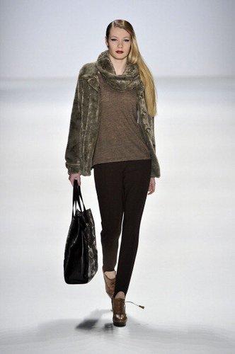 Amelie Klever auf der Berliner Fashion Week