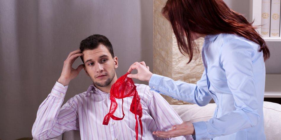 Wife finds somebody's underwear near her husband
