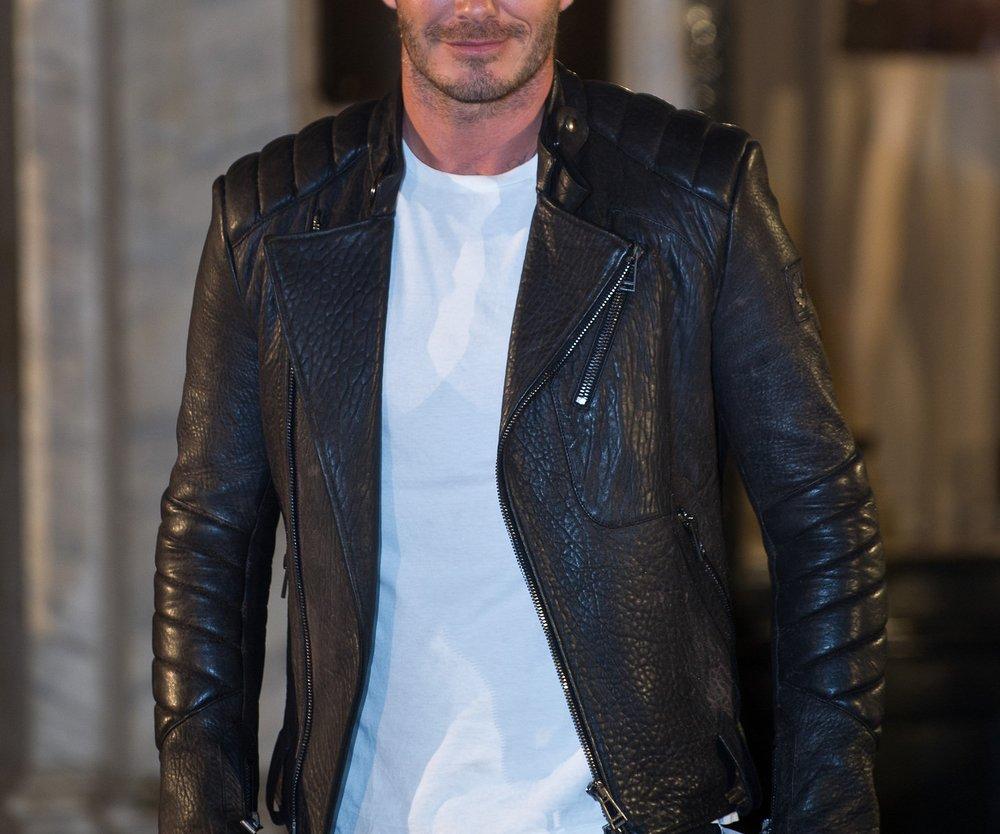 David Beckham ist der Mann des Jahres