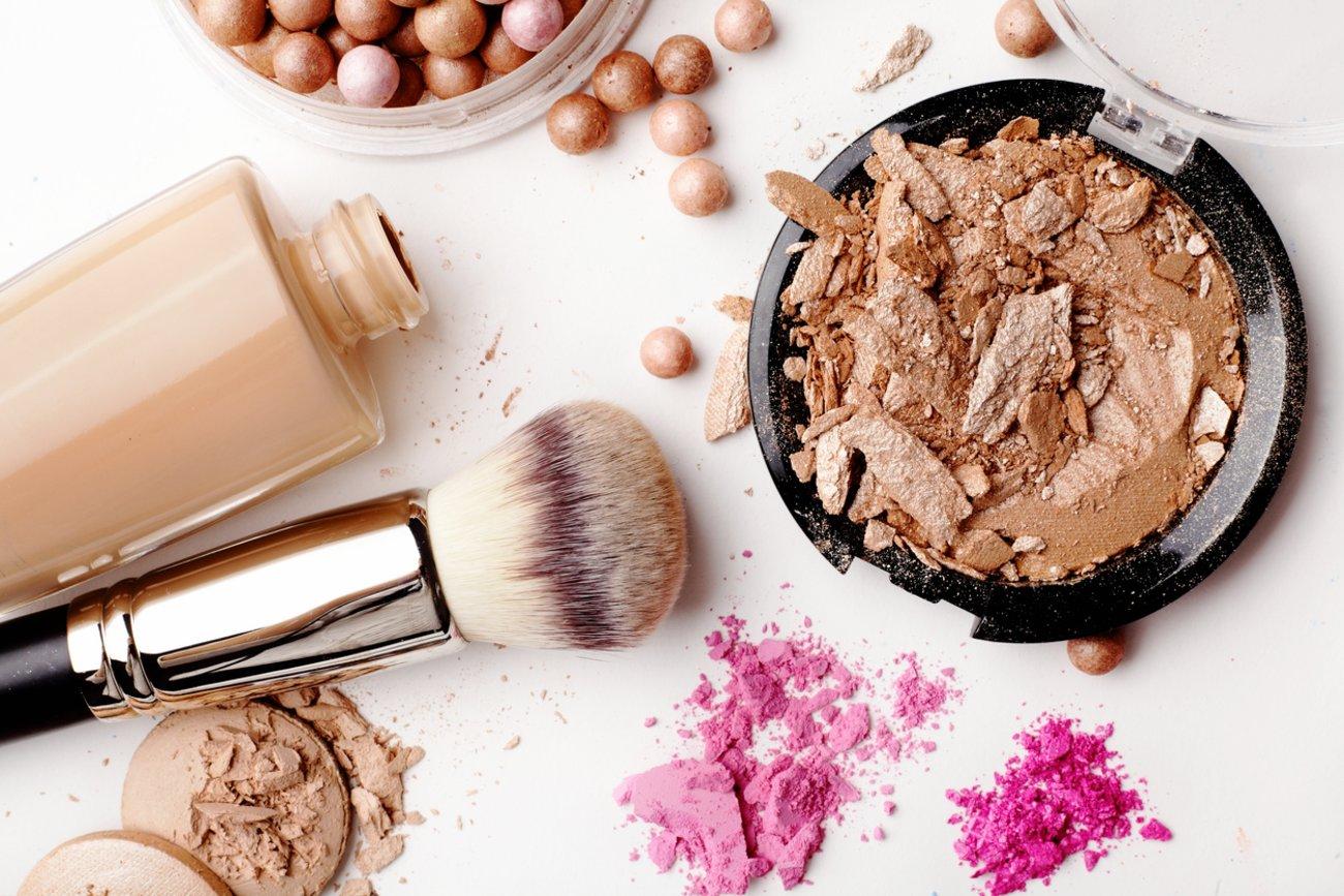 Banana Powder Make-up Pinsel