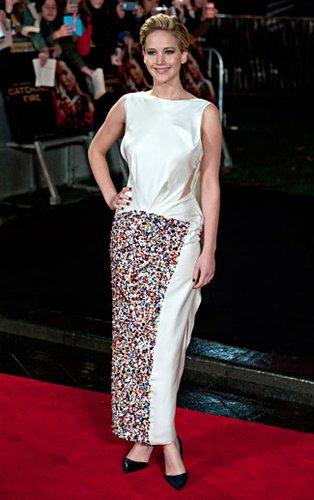 Im November 2013 trotzte Jennifer Lawrence bei der Premiere von