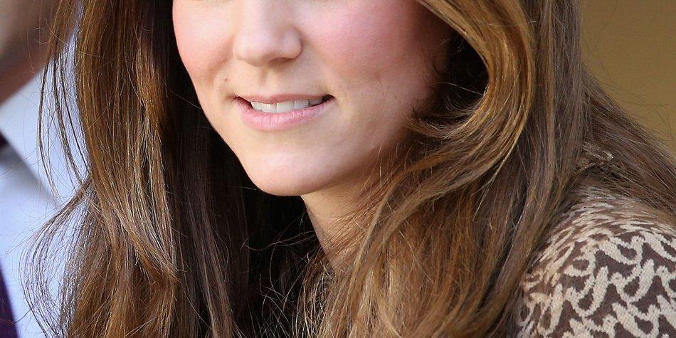 Kate Middleton: Baby George hat ihre Augen