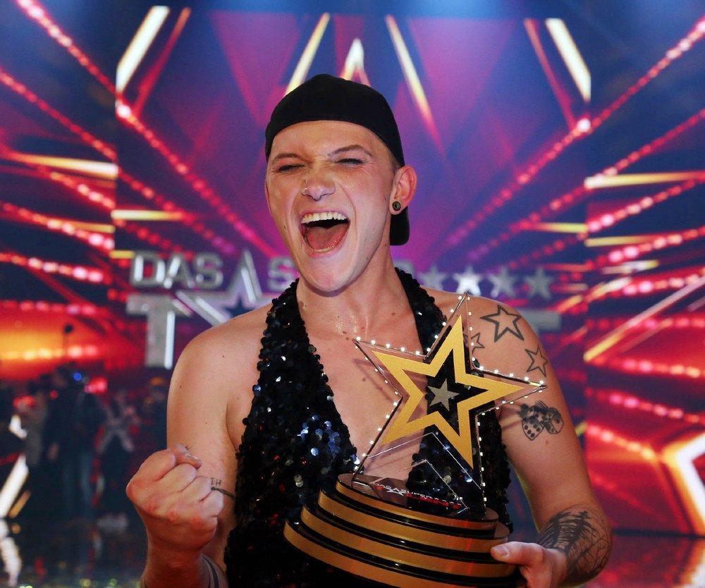 Das Supertalent: Marcel Kaupp gewinnt die achte Staffel