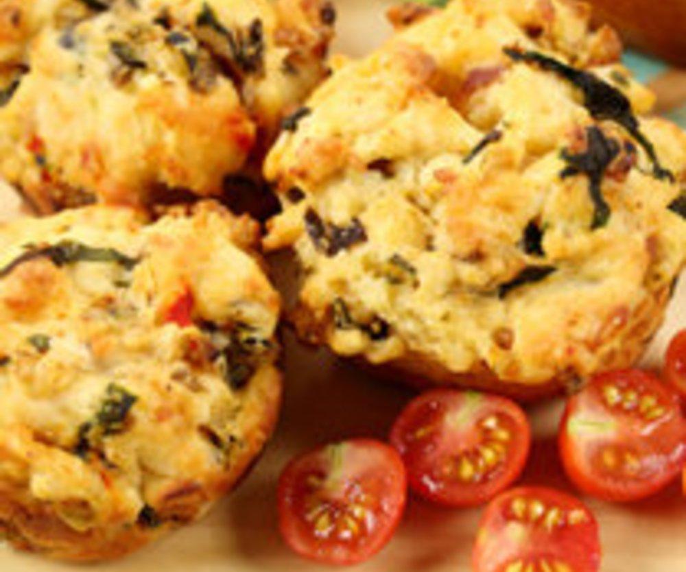 Tomaten-Muffins mit Rosmarin