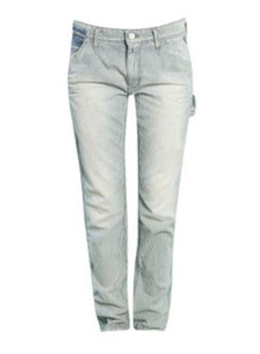 Diese gestreifte Jeans ist eine tolle Variation der superlässigen Boyfriend Jeans.