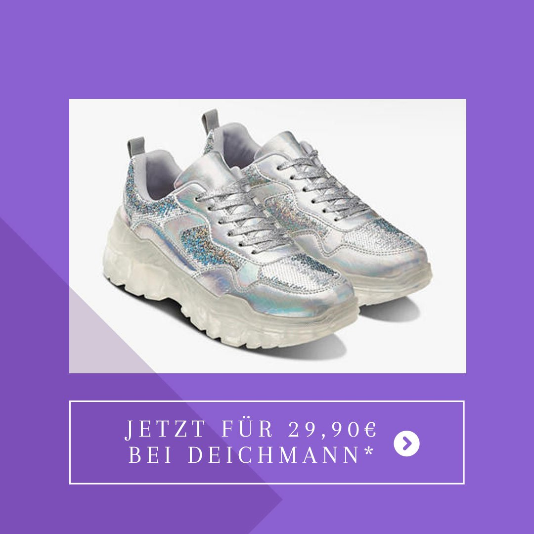 Deichmann Sneaker transparente Sohle