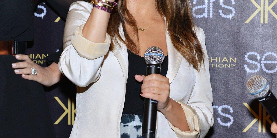 Kourtney Kardashian: Geburt vor laufender Kamera