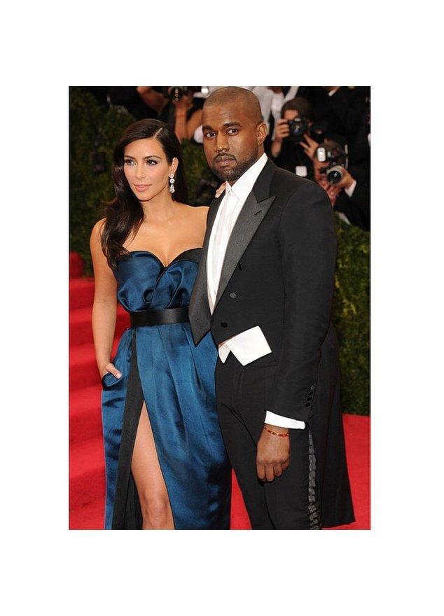 Kim Kardashian und ihr Verlobter Kanye West