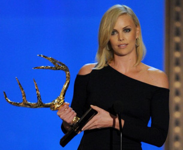 Die Oscarpreisträgerin Charlize Theron