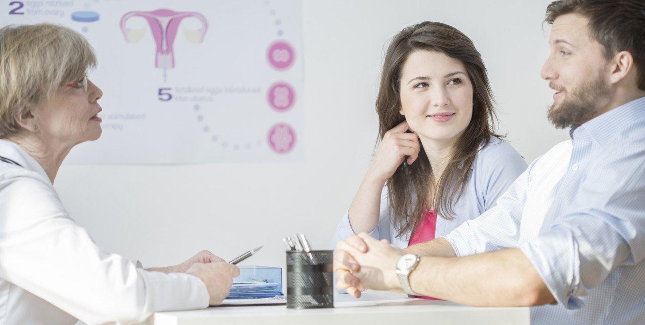 Fruchtbarkeit steigern Arztbesuch