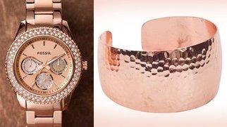 Goldschmuck mal anders: Trend 2012