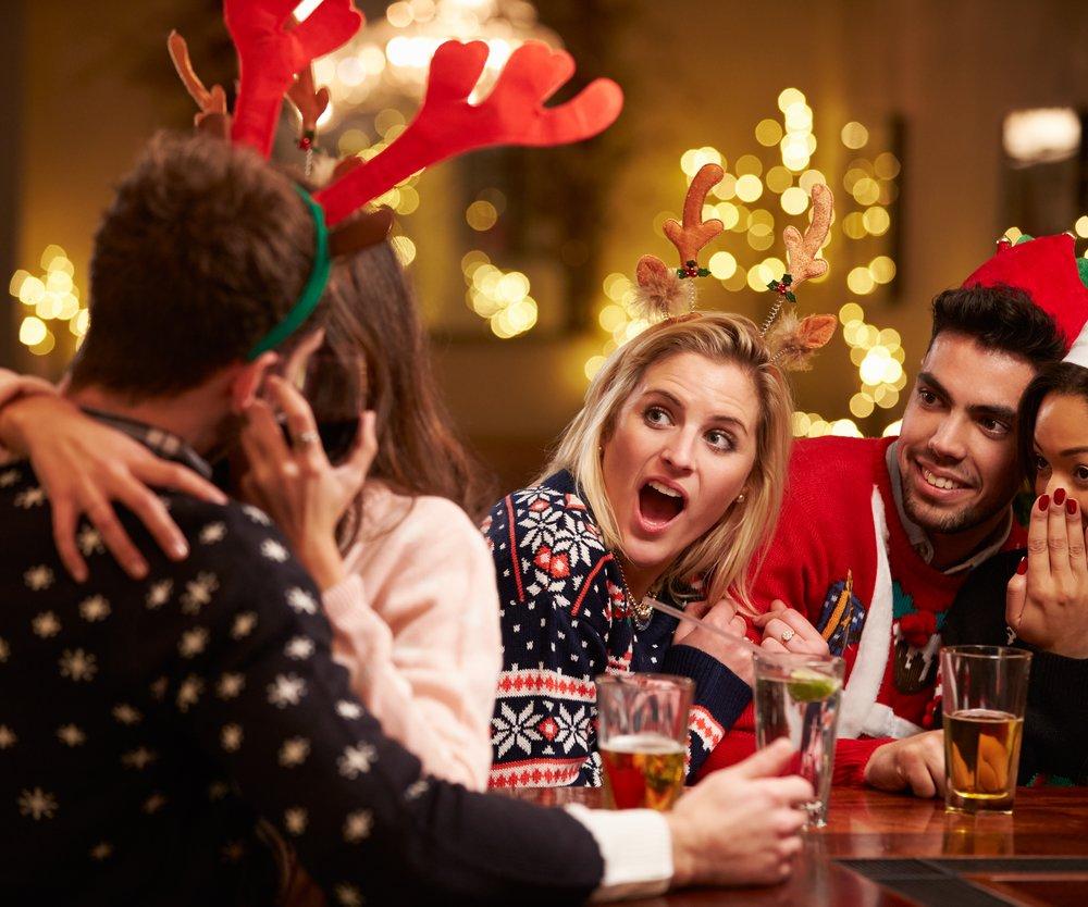 Weihnachtsfeier Firma Studie