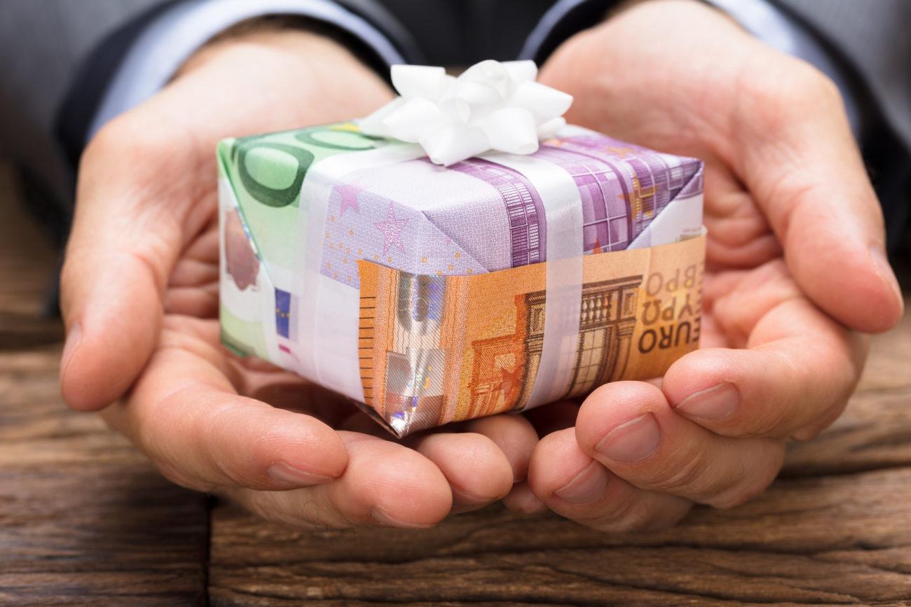 geld hochzeit verpacken