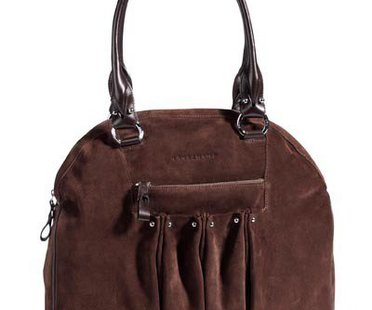 Braune Shopper Tasche