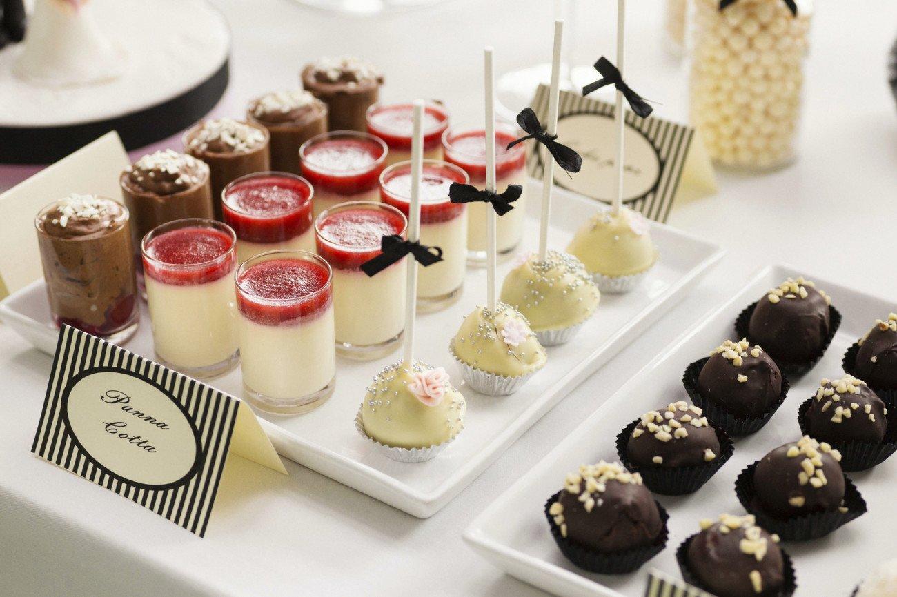 Dessers zur Hochzeit