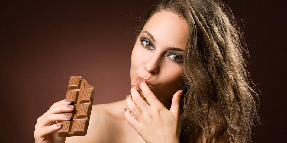 Schokolade, die high macht.