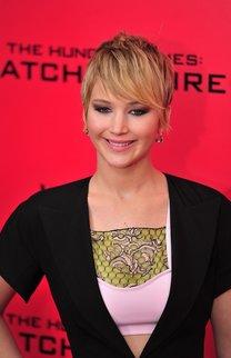 Jennifer Lawrence: Pixie Cut mit langem Pony