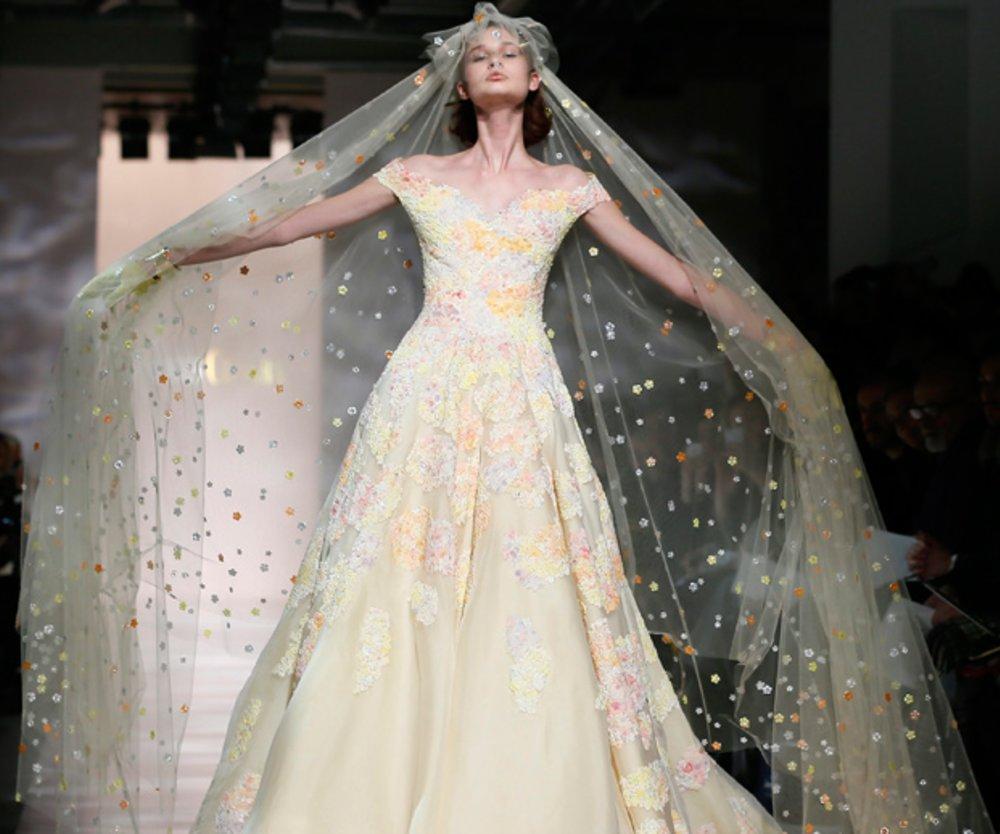 Heiraten in Haute Couture: Die schönsten Brautkleider vom Laufsteg ...