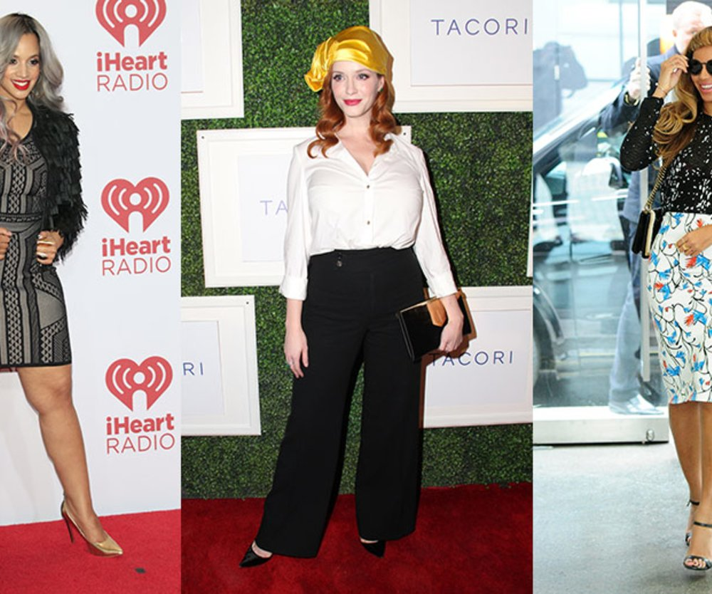 Diese Hollywood-Damen machen es vor: Dascha Polanco, Christina Hendricks, Beyoncé und Co. zeigen, welche Fashion-Trends an kurvigen Frauen noch schöner aussehen!