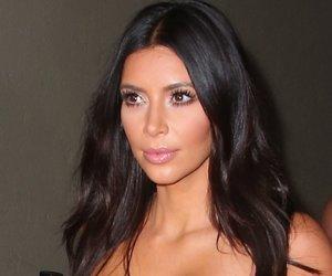 "MELBOURNE, AUSTRALIA - NOVEMBER 18: Kim Kardashian arrives to promote her new fragrance ""Fleur Fatale"" at a Spice Market event on November 18, 2014 in Melbourne, Australia. (Photo by Scott Barbour/Getty Images)"