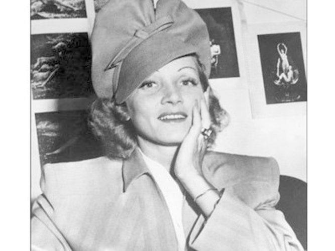 Marlene Dietrich war eine richtige Diva