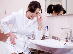 Viele Frauen leiden unter Schwangerschaftsübelkeit.