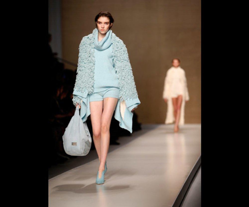 Blumarine Herbst/Winter 2013-Kollektion auf der Fashion Week Mailand