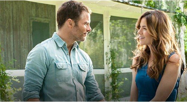 """Dawson und Amanda in """"The Best of Me"""""""