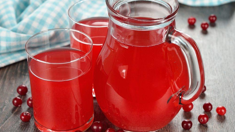 Cranberrysaft bei Blasenentzündung