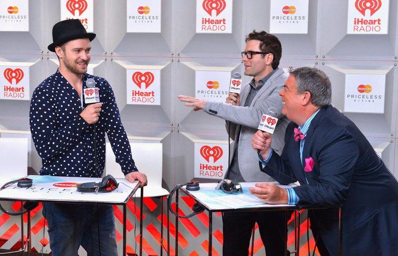 Justin Timberlake ist immer gut drauf