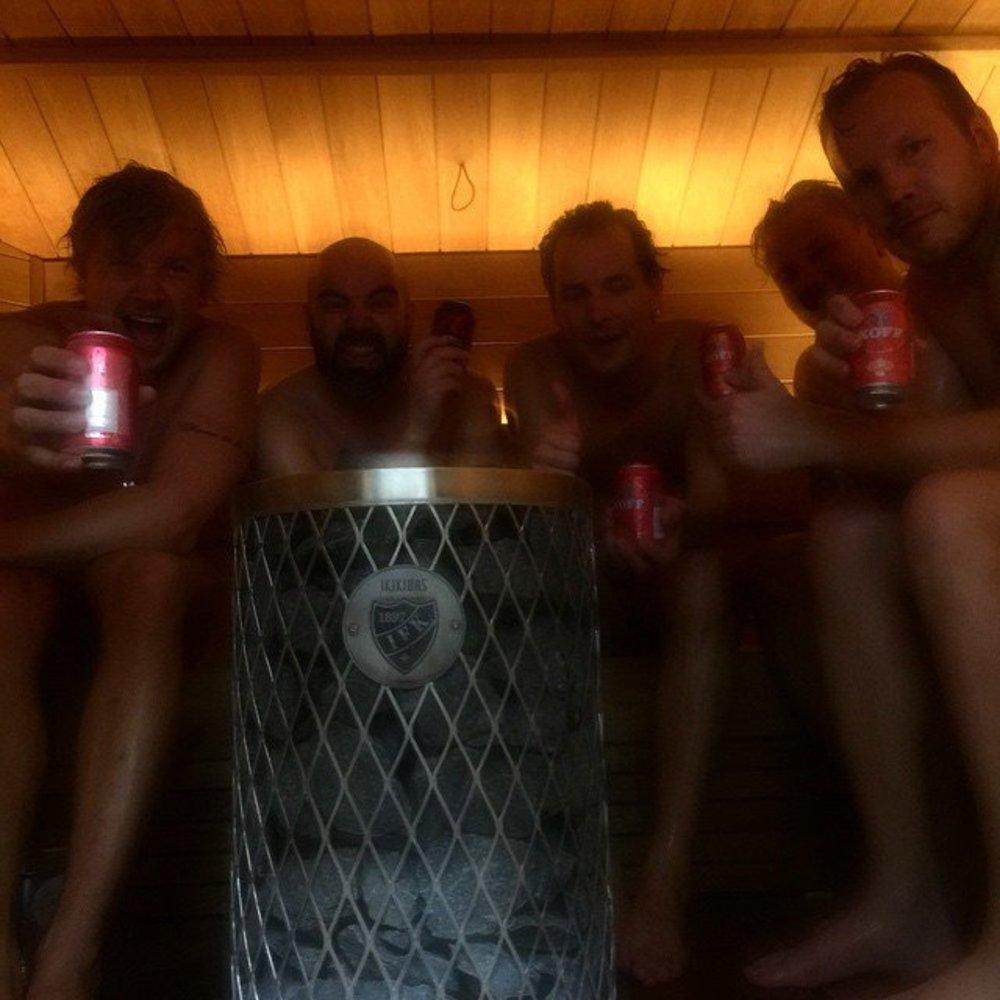 Samu Haber: Heiße Grüße aus der Sauna