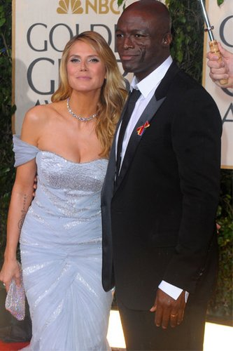 Heidi Klum bei den Golden Globes