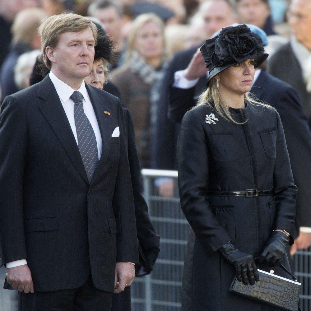 Willem-Alexander musste sich seiner schwersten Herausforderung stellen