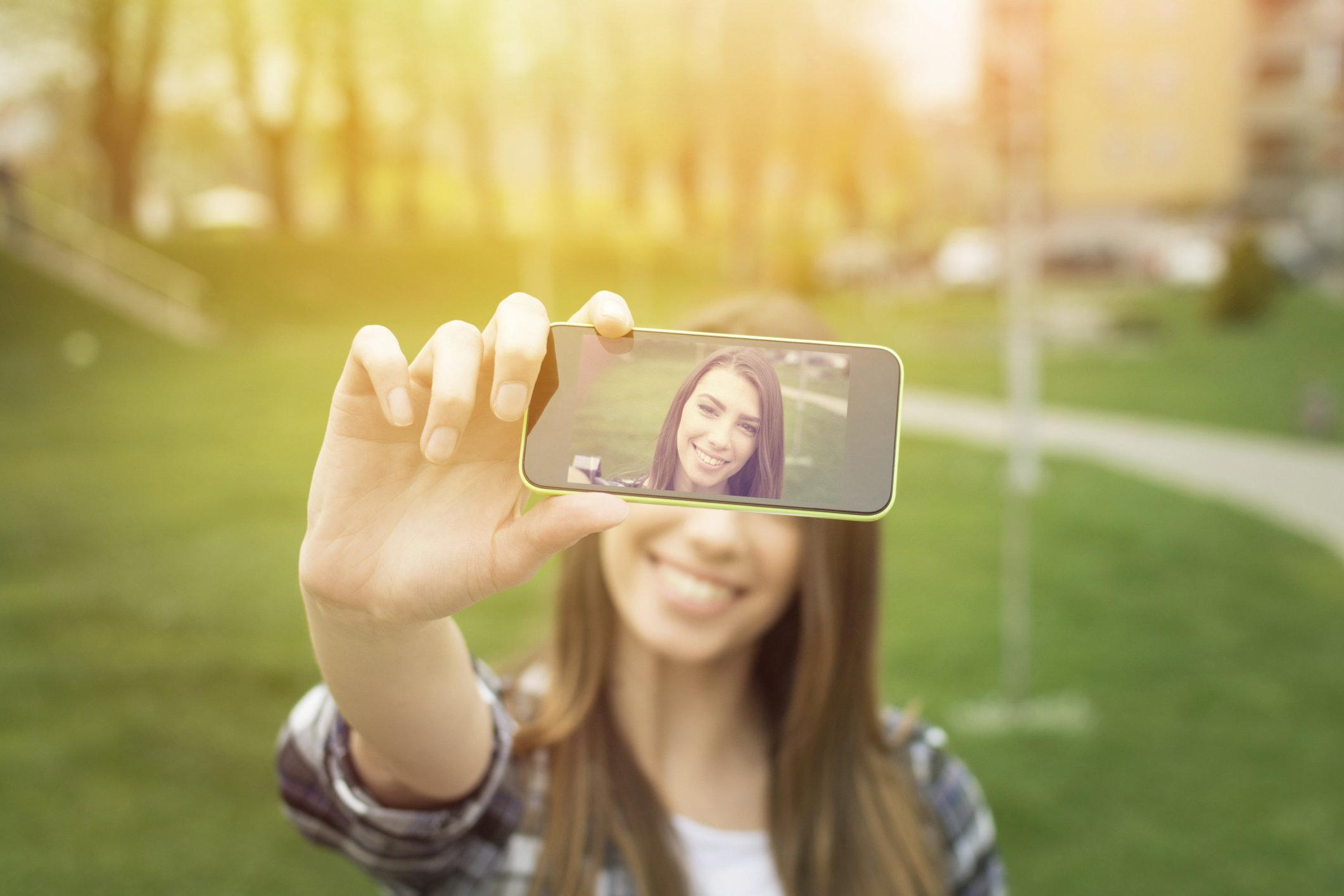 wie entsteht das perfekte selfie