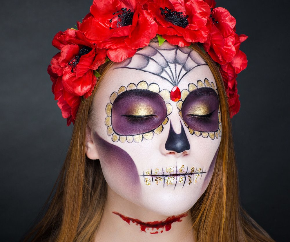 La Catrina Make-up Look