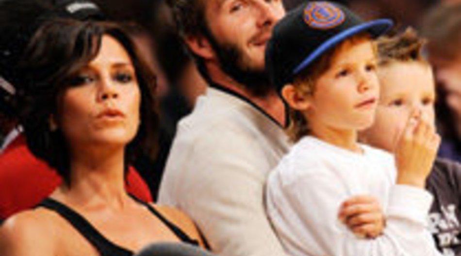 Victoria Beckham designt mit Familie